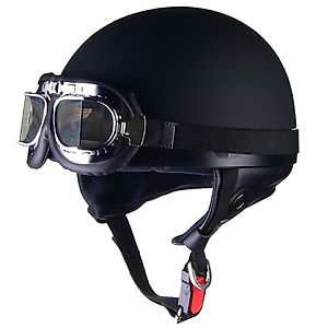 LEAD CROSS CR-751 Vintage Half Helmet