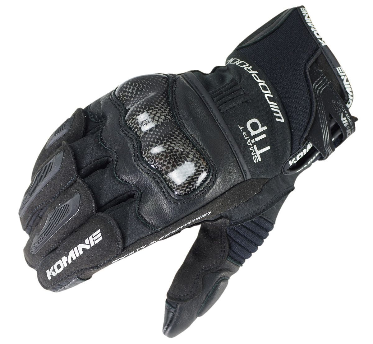 KOMINE GK-821 CarbonProtectWindproof GĂNG TAY