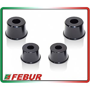 FEBUR KIT ERGAL WHEELS AXLES COVERS