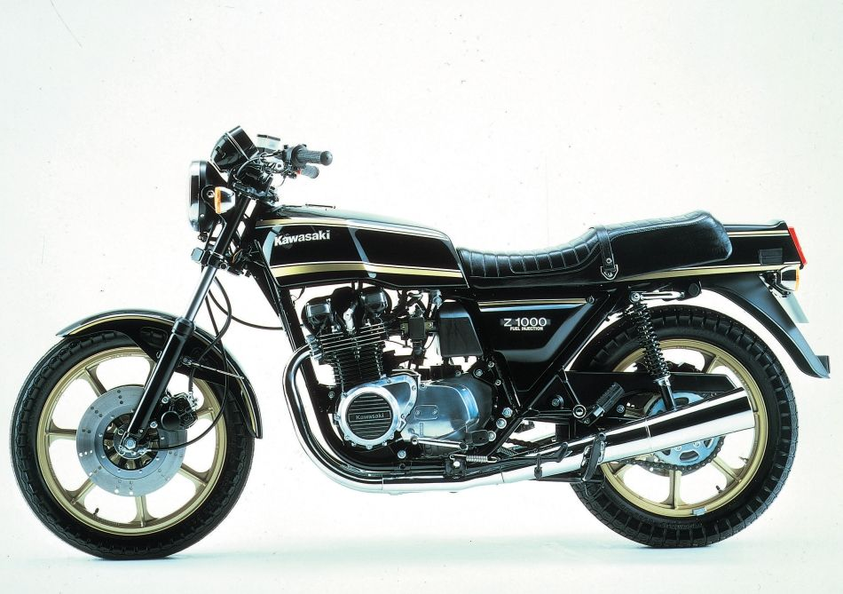 KAWASAKI Z1000 (KZ1000, Air-cooled)