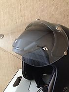 A Helmet is ARAI CLASSIC-SW and a Shield is a Vint...